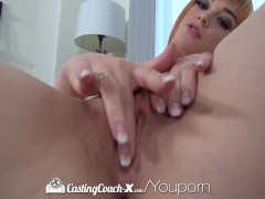 Picture CastingCouch-X - Redhead Anny Aurora gets he...