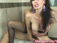 Picture Kinky Shanda Fay Fucks in Stockings For Cum