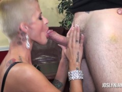 Picture Joslyn James Dominates Step Son To Teach Him...