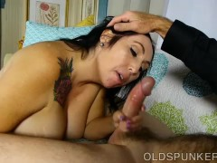 Picture Super cute chubby old spunker wants you to c...