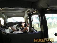 Picture FakeTaxi Lace up boots and a big taxi cock