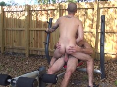 Picture Butt Smashing In The Yard- Factory Video