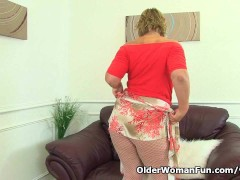 Picture British milf Danielle will let you feast you...
