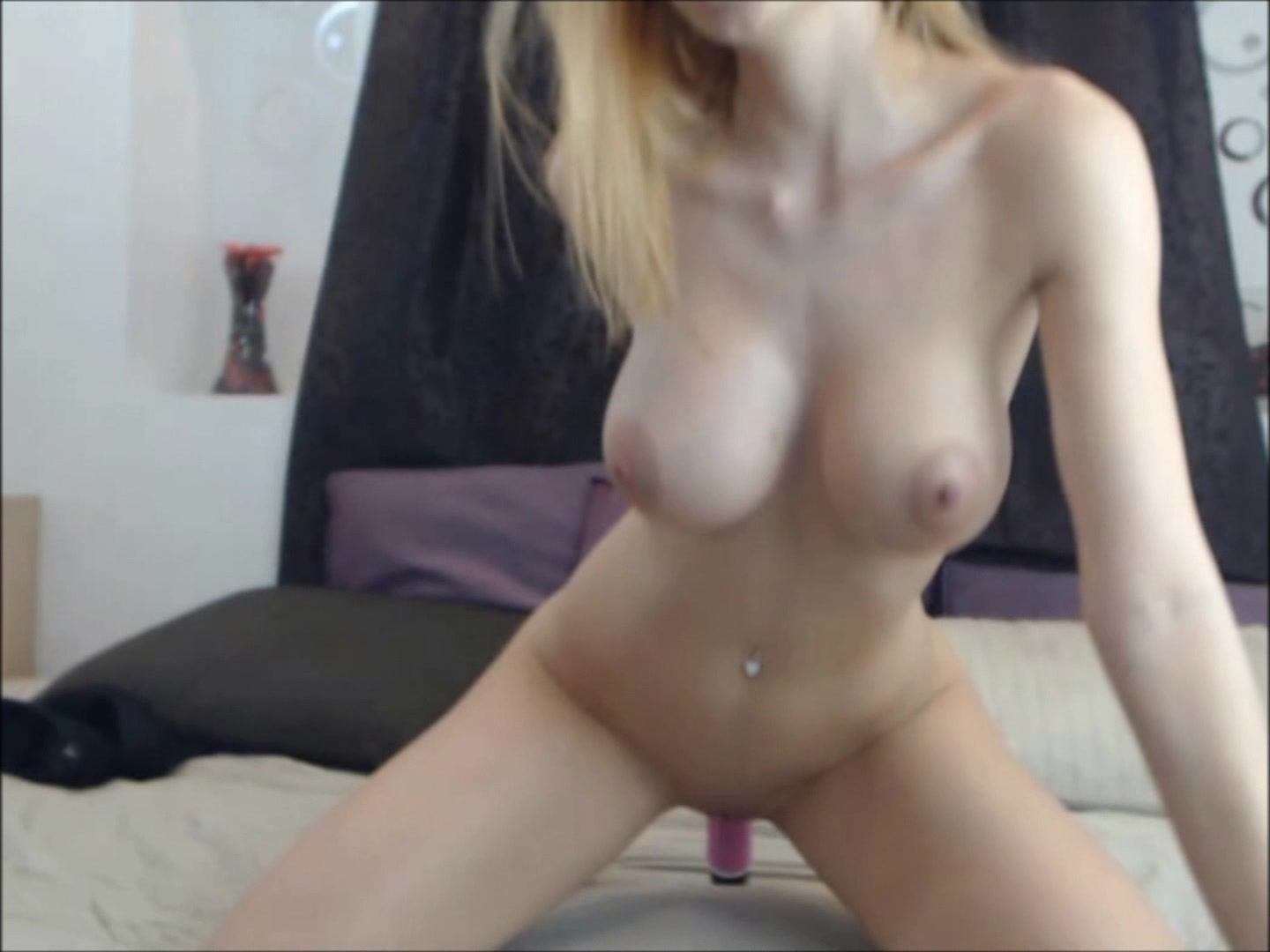image Hot dildo ride hd and handjob orgasm