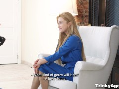Picture Tricky Agent - Sex audition with petite Youn...