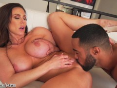 Picture Kendra Lust hot busty MILF loving big black...
