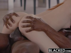 Picture BLACKED First Big Black Cock For Young Girl...