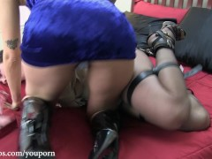 Picture Cherry Doll Humiliation in Straitjacket