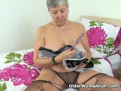 Picture British granny Savana will serve all your ne...