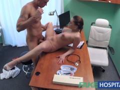 Picture FakeHospital Kinky nurse helps patient ejacu...