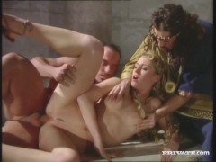 Picture Barby and Lynn Stone Dped in a Roman Orgy