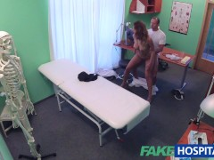 Picture FakeHospital Doctor fucks minx in job interv...