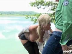 Picture Ass fucking German Milf lake side