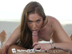 Picture MyVeryFirstTime - Olivia Lee tries painful f...