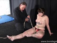 Amateur bondage and homemade...