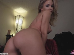 Picture Angela Sommers strip tease and finger fuckin