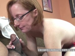 Picture Horny housewife Layla Redd is swallowing a s...