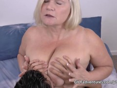 Picture Mature insurance seller sex with younger cus...