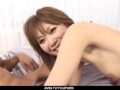 Picture Rika Sakurai enjoys more than one cock for h...