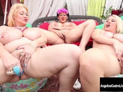Picture Triple Threat with Angelina Castro s Big Tit...