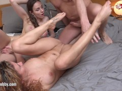Picture My Dirty Hobby Hard threesome pounding