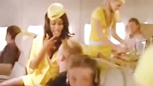 Hot, Sexy & Naughty Stewardess.