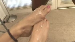 cum on those feet6