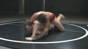 Hot guys wrestling - loser gets fucked!