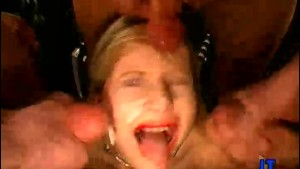 Hot MILF Gagging