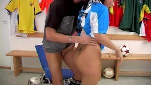 Soccer Babe Love Sucking & Fucking