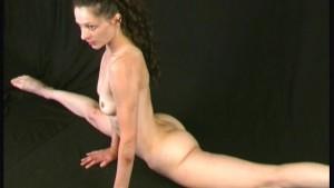 Penelope doing flexible posing