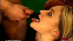 Sabine Sucking, Fucking and Cum Drinking