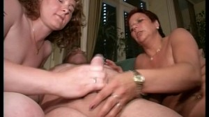Cock shaft and balls in good hands