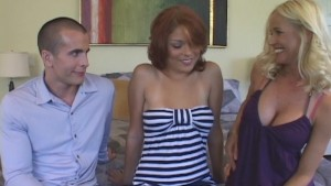 Couple Enamoured With Coed Pussy