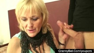Guy hires the old broad prostitute