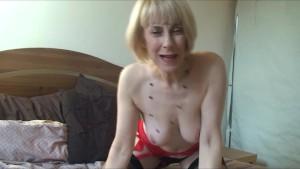 Blonde Milf Hazel Hairy Pussy