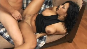 Busty milf tours a hard cock in her precious cave