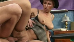 hot mom loves deep anal sex