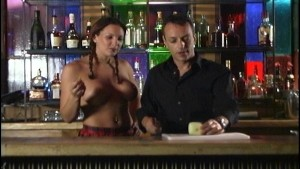 With topless barmaid who cares what s in the drink