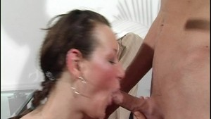 She can deep throat with the best of them