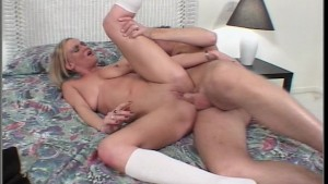 See this bad horny dirty blonde