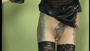 Tattooed girl gets pierced by his cock