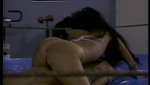 Sexy girl rumble and get naked