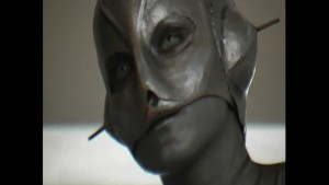 Transformed into a alien workgirl