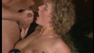 Retro clips from the 80 s and they suck up the cum. (Clip)