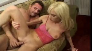 Hot 18 year old blonde enjoys anal