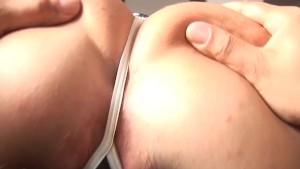 Hd blow-job with hd braces and tits