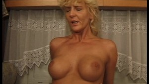 Cock, tits and hairy pussy