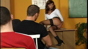 NaUgHtY tEaChEr ShOwS HeR cHaRmS