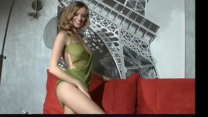 sexy interview and strip tease